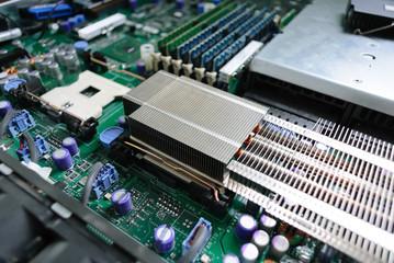 Server motherboard.