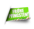 Frohe Pfingsten! Button, Icon