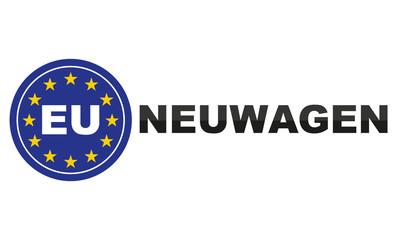 EU Neuwagen Zeichen
