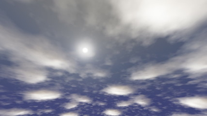 sky - animated background