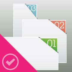 web progress boxes background