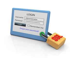 SSL Secure Login