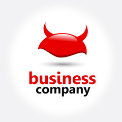 Devil Logo Company Design