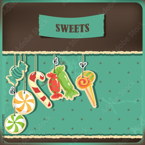 Sweets on strings.
