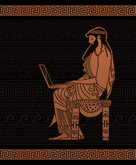 Ancient Businessman