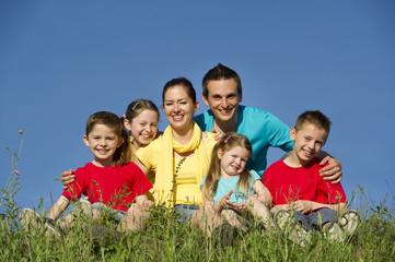 Happy Familie -Outdoor