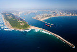 Fototapety overall aerial view of Durban, south africa