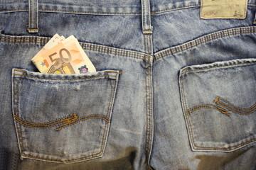 Euro e Jeans posteriore