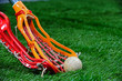 Girls Lacrosse sticks fight for the ball - 41561785
