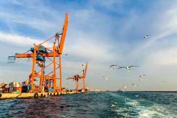 Haydar pasha docks in Istanbul