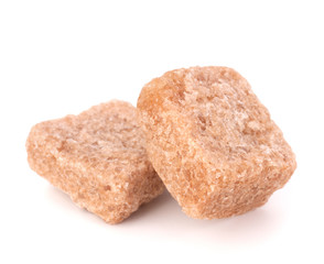 Lump brown cane sugar cubes