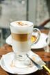 layered cappuccino