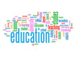 """EDUCATION"" Tag Cloud (studies students university exam teacher)"
