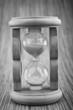 retro hourglass