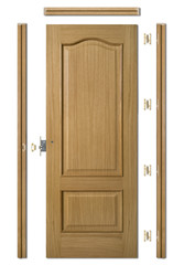 wooden doors - Puerta Madera Kit