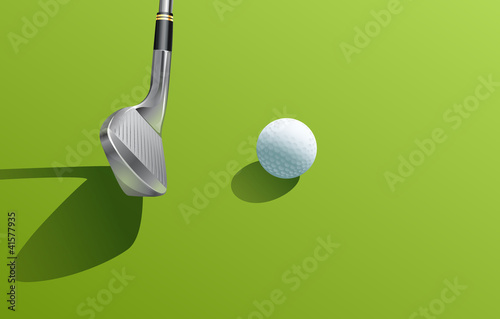 Iron and ball golf