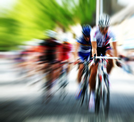 zoom burst bike race