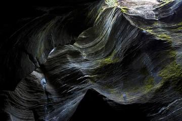Grotte, Orridi di Uriezzo rocce alte