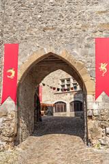 Perouges (France), medieval village