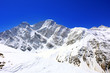 Beautiful view of mountains in the Elbrus area. Panorama