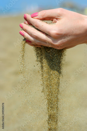 Sand in the hands