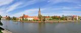 Fototapeta Wrocław, Ostrów Tumski - Stitched Panorama