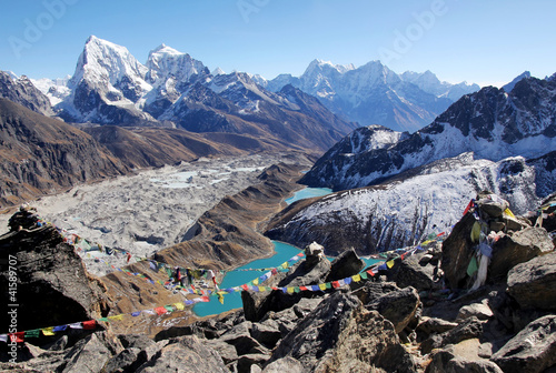 Fotobehang Nepal Gokyo Lake, Everest Area, Nepal