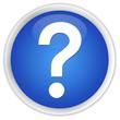 """Question mark"" blue button"
