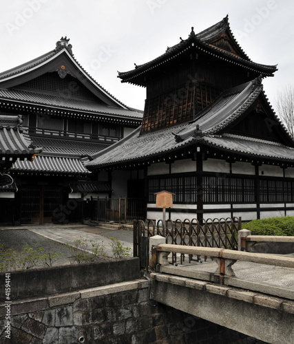 Japanese temples in kyoto
