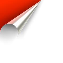 Serie: Werbecke rot