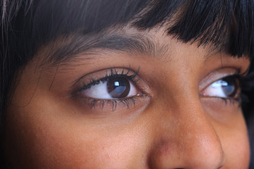 Asian eyes female