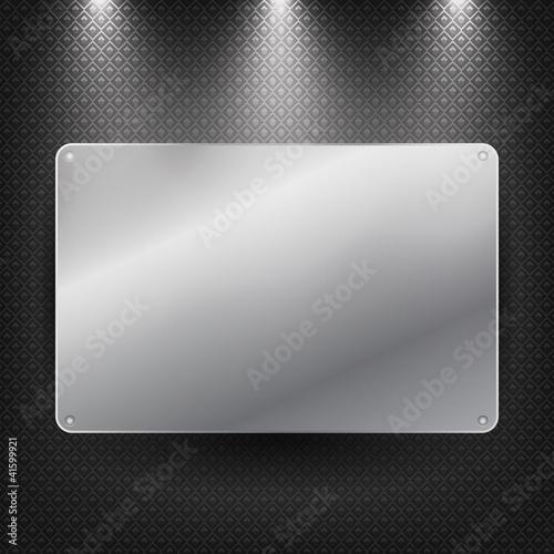 Işıklı metalik tabela