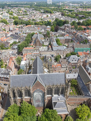 Aerial view of Utrecht, Netherlands