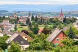 Fototapety Murten old town and castle, Switzerland