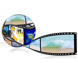 3D film strip images,Photo World
