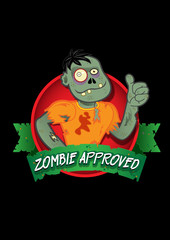 Zombie Approved Seal