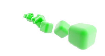 Green Cubes, Cubos Verdes