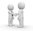 Handshake between two businessman