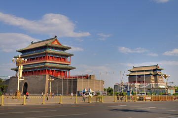 The gates of old Beijing