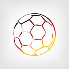 Fußball Skizze