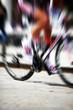 zoom burst cyclist