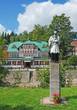 Leinwandbild Motiv in Spindlermühle im Tschechischen Riesengebirge