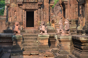 Templo de Banteay Srei. Angkor. Camboya