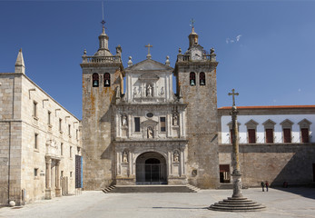 Se Cathedral in Viseu, Portugal.