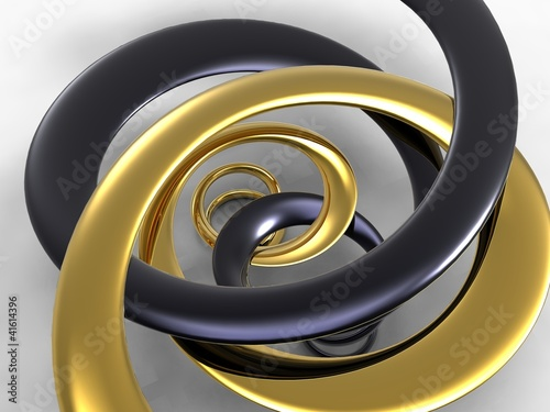 perspective of creative design of spirals