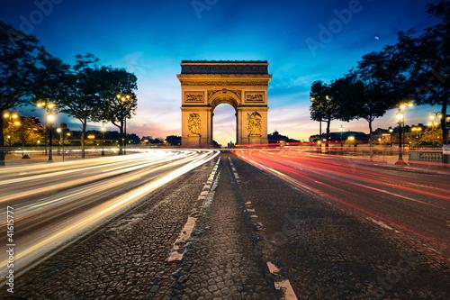 Arc de Triomphe Paris France - 41615777