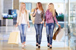 Women in shop