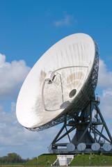Satellite disc an blue sky