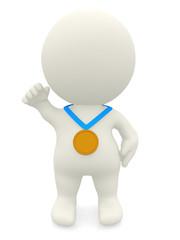 3D Gold medalist