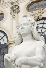 Sphinx vor dem Schloss Belvedere